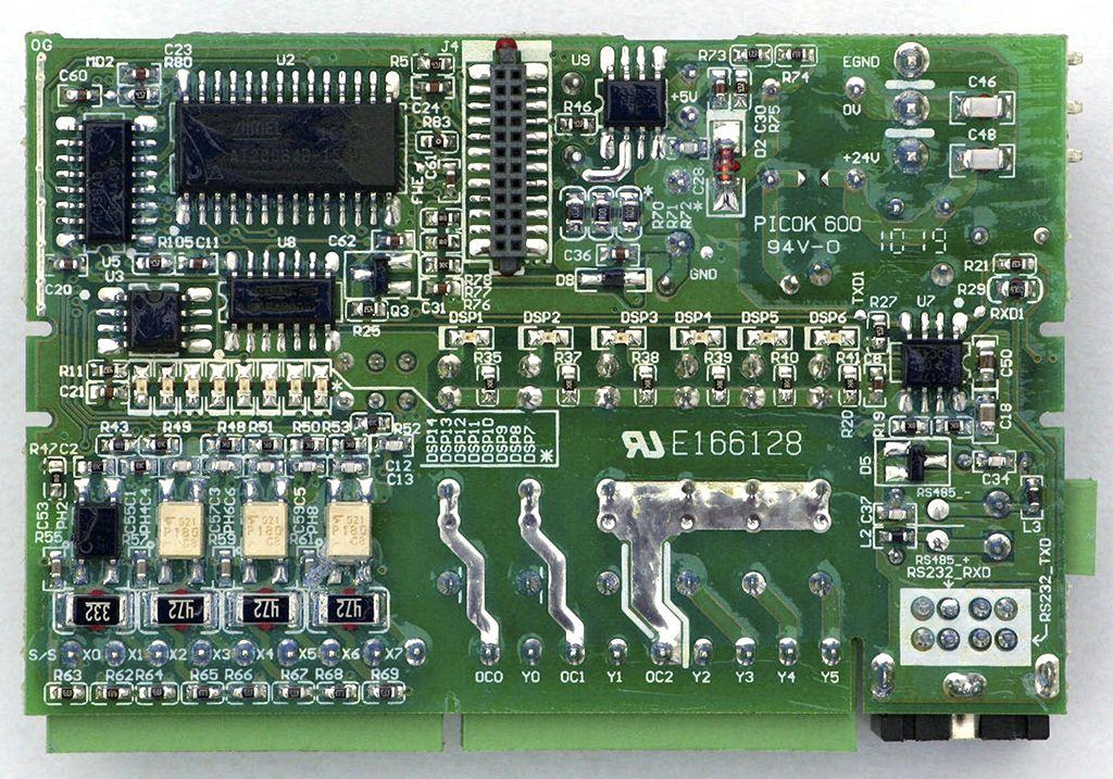 Рис.3 - Плата, нижняя сторона Delta Electronics DVP14SS11R2