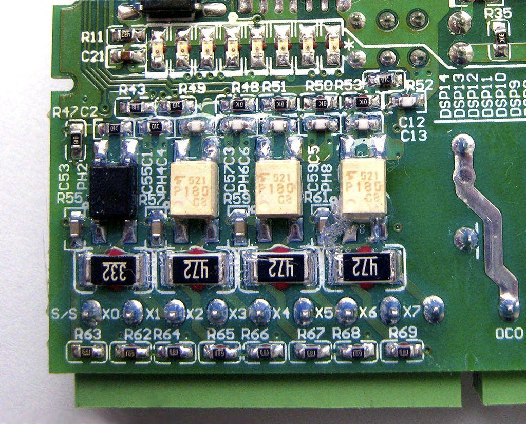 Рис.7 - Опторазвязка дискретных входов Delta Electronics DVP14SS11R2
