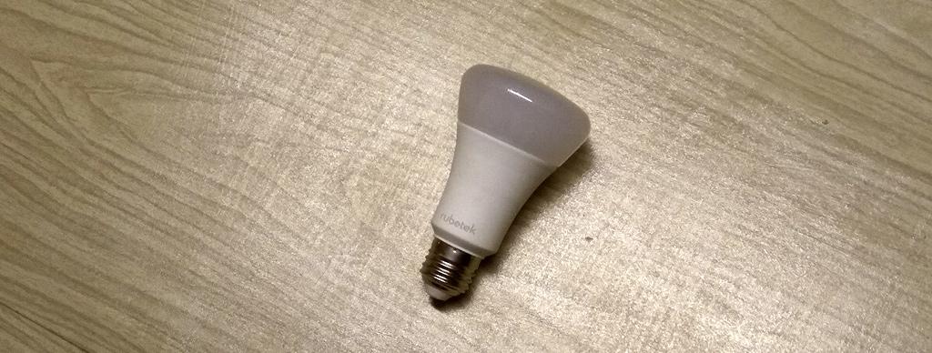 Рис. 2 — Общий вид умной Wi-Fi-лампы Rubetek
