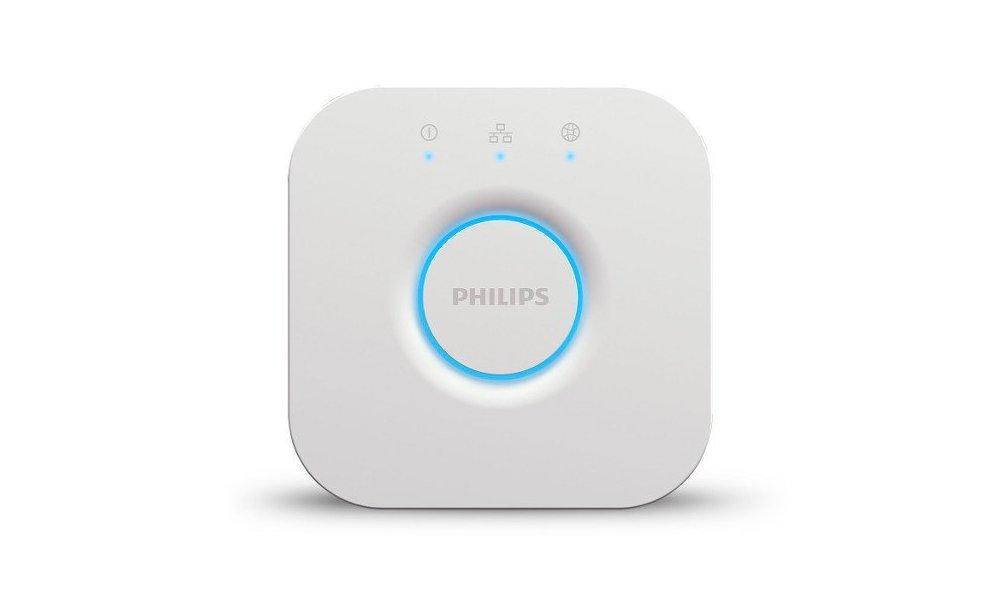 Нажмите кнопку на шлюзе Philips Hue