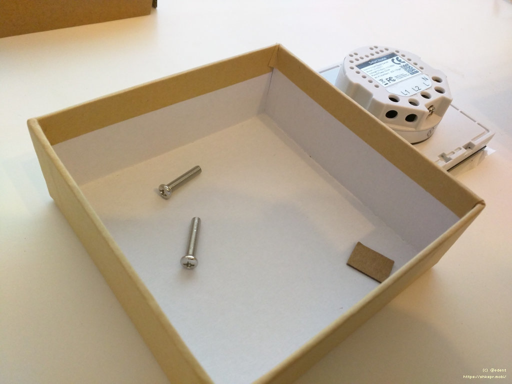 Рис. 3 — Комплект поставки Wi-Fi-выключателя Lanbon