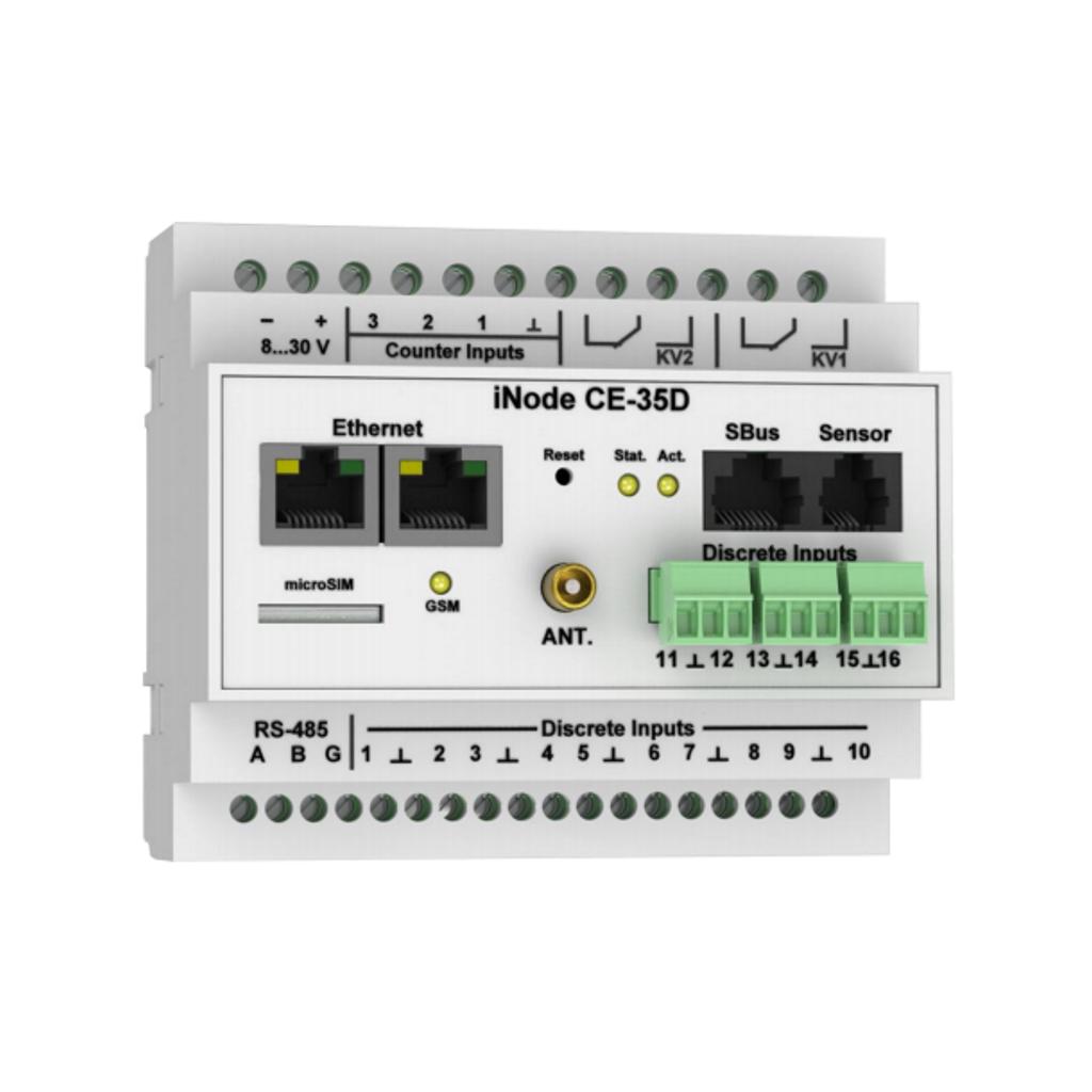 Обзор контроллера iNode CE-35D — новое поколение ПЛК или нам больше не нужно программировать?