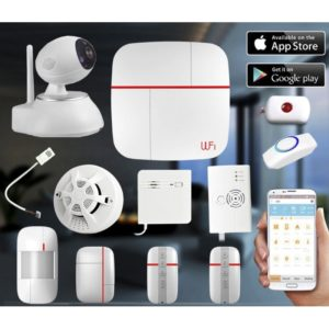 Smart Alarm Systems Vcare 2