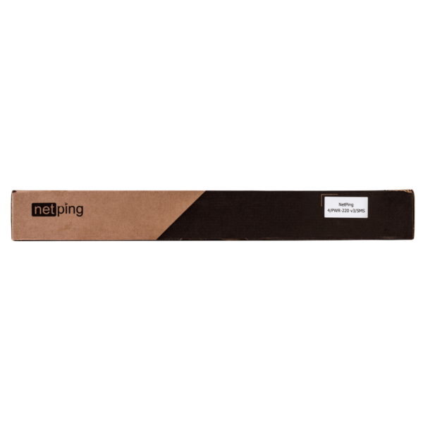 Удаленное управление электропитанием NetPing 4/PWR-220 v3/SMS Rack PDU