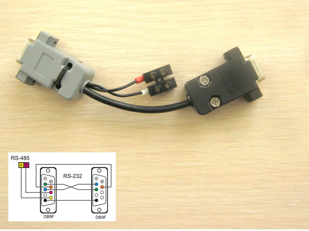 Рис. 7 — Переходник для одновременного подключения панели к ПК и ПЛК
