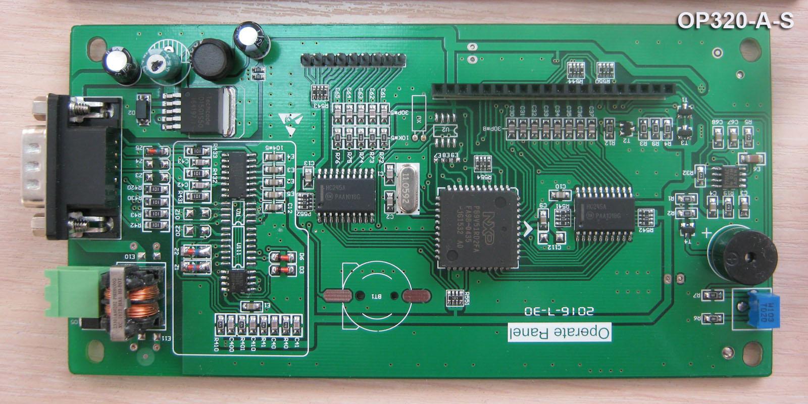Рис. 17 — Процессорная плата OP320-A-S