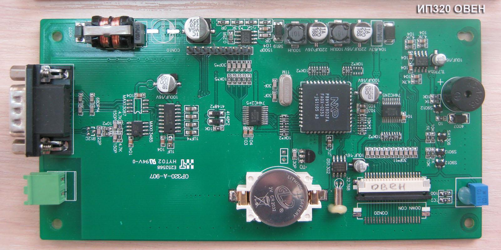 Рис. 18 — Процессорная плата ИП320