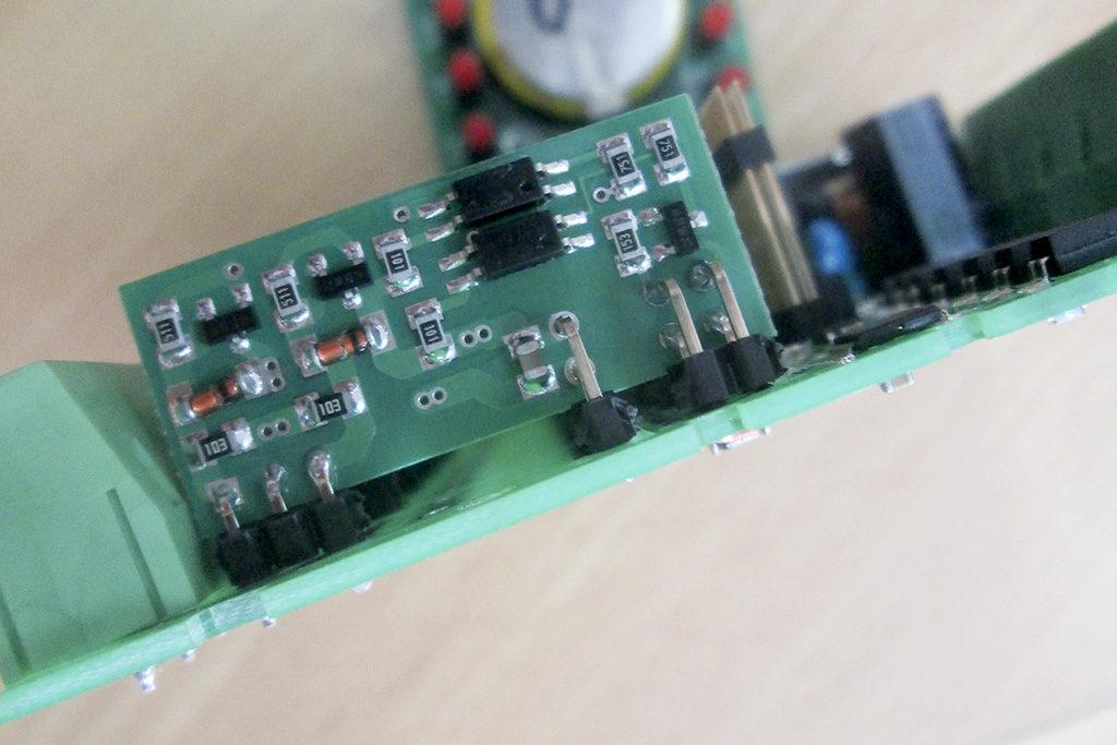 Рис. 10 — Переходная плата. Транзисторные ключи «ОВЕН ПЛК100»