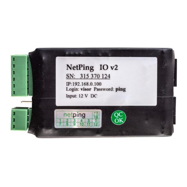 Мониторинг состояния удаленных коммутационных шкафов и ящиков NetPing IO v2