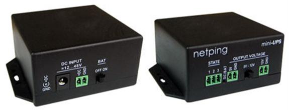 NetPing mini-UPS источник бесперебойного питания