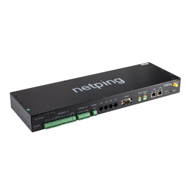 Мониторинг микроклимата серверной комнаты UniPing server solution v4/SMS