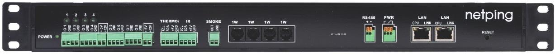 Устройство мониторинга микроклимата серверной комнаты UniPing server solution v3 - передняя панель