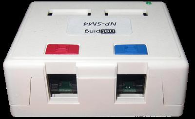 POE коммутатор NetPing NP-SM4 - внешний вид