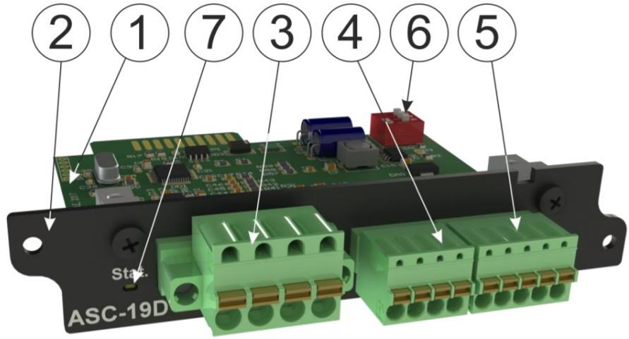 APC-19D модуль аналоговых датчиков для iNode 19D - внешний вид
