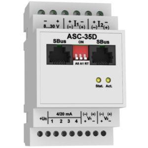 ASC-35D - модуль аналоговых датчиков