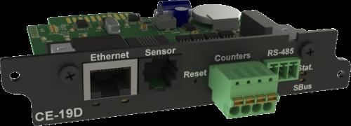 CE-19D сетевой WEB/SNMP контроллер для iNode 19D