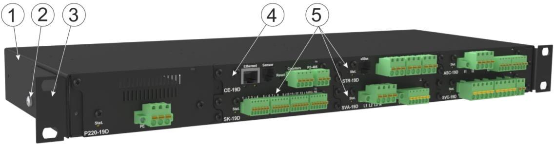 Система мониторинга iNode 19D - внешний вид