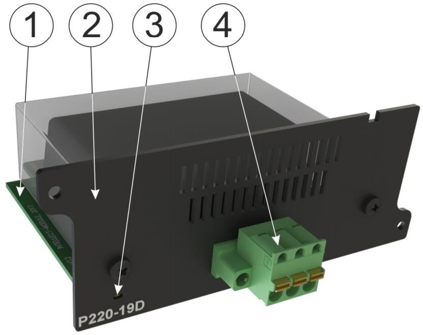 P220-19D модуль питания переменного тока для iNode 19D - внешний вид