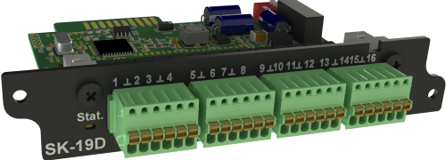 CK-19D модуль контроля дискретных входов для iNode 19D
