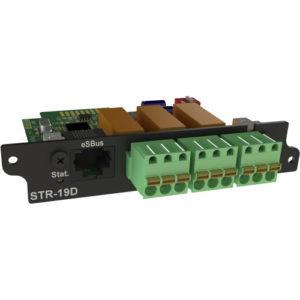 STR-19D модуль контроля цифровых датчиков и релейных выходов для iNode 19D