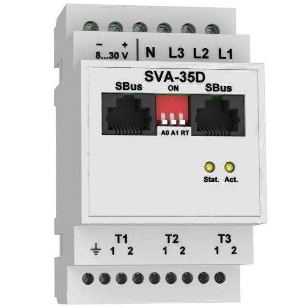 SVA-35D модуль сбора и предобработки данных с датчиков напряжения и тока