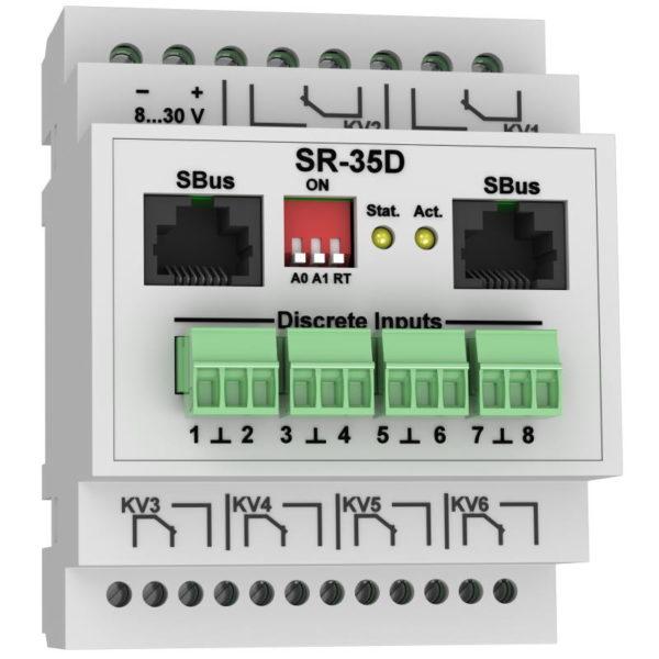 SR-35D модуль управления релейными выходами