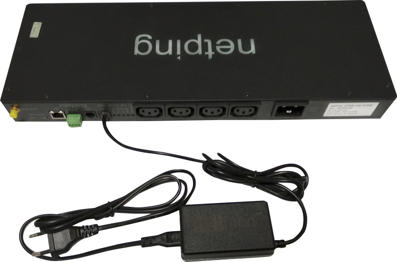 NetPing датчик качества электропитания 1-wire 910S20 - подключение к устройству NetPing
