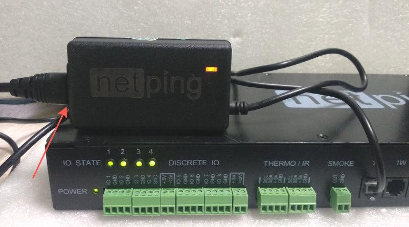 NetPing датчик качества электропитания 1-wire 910S20 - подключение шаг 3