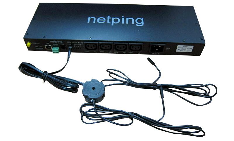 NetPing удлинитель-разветвитель 1-wire на 5 портов, модель R912R1 - подключение
