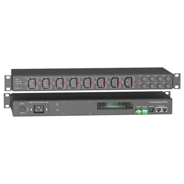 RPowerNode 8PDU ACC (40A) — устройство распределения электрического тока по нагрузкам потребителя («распределитель электропитания»)