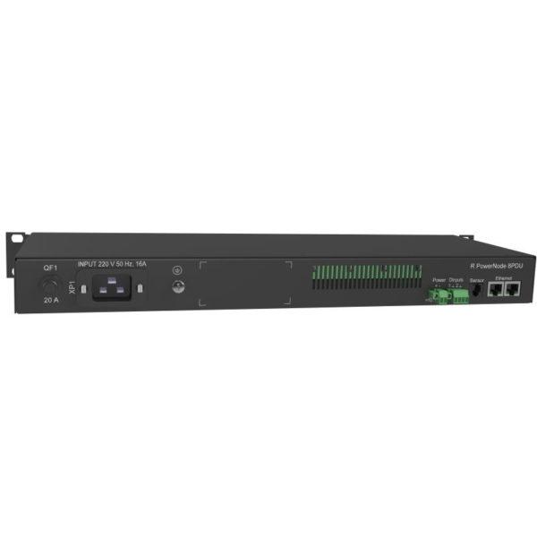 RPowerNode 8PDU — устройство распределения электрического тока по нагрузкам потребителя («распределитель электропитания»)