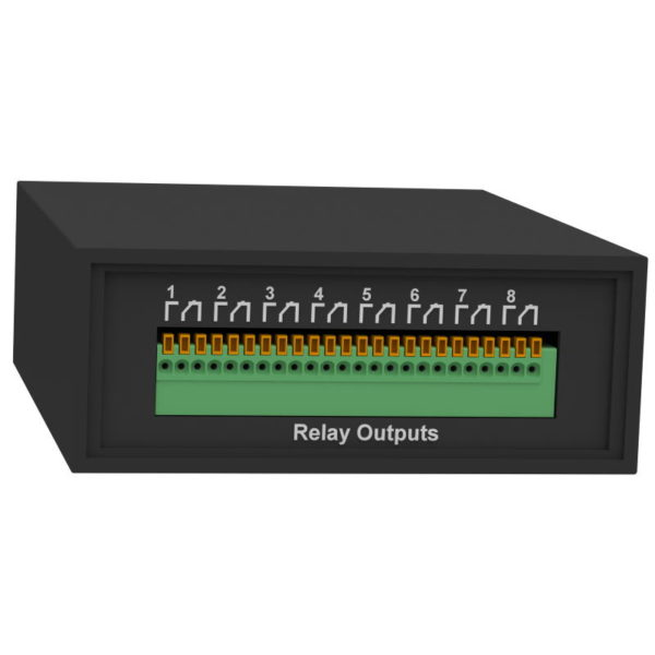 iNode-Relay - сетевой WEB / SNMP адаптер с восемью релейными выходами и одним дискретным входом (тип «сухой контакт»)