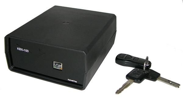 Относительные размеры Ethernet модуль KBX-100 от KernelChip
