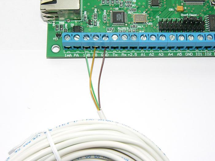 Мониторинг влажности в помещениях через Интернет при помощи Laurent-5G