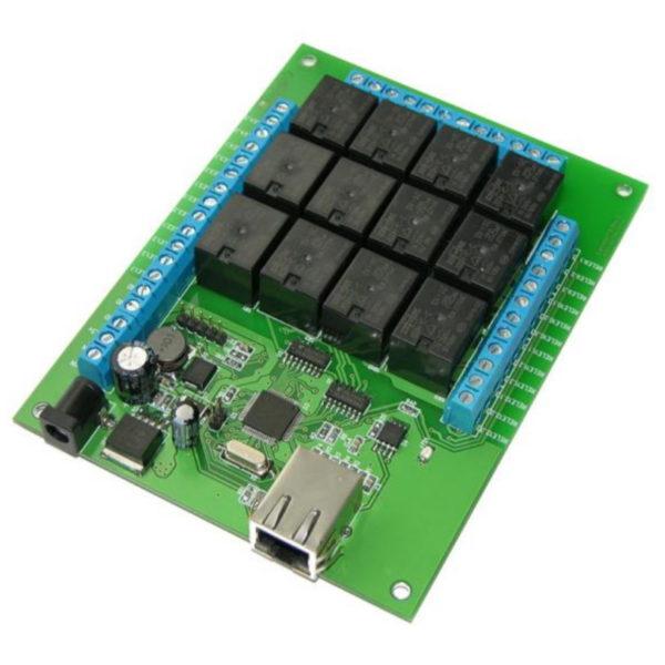 Модуль Ethernet реле Laurent-112 (12 x реле)