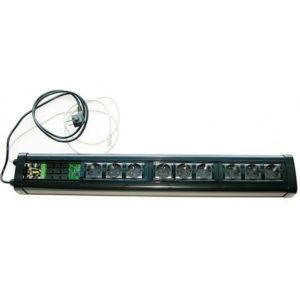 SteelLight - блок управляемых розеток 220 В по сети Ethernet от KernelChip