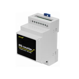 Рис.1 - SNR-RScounter-8i-SMART - универсальный расширитель портов ввода с функцией подсчёта импульсов, RS485 (ModBus и CPD)