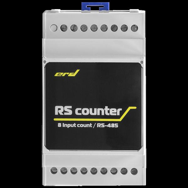 Рис.2 - Счётчик импульсов с цифровым интерфейсом RS485, 8 импульсных входов