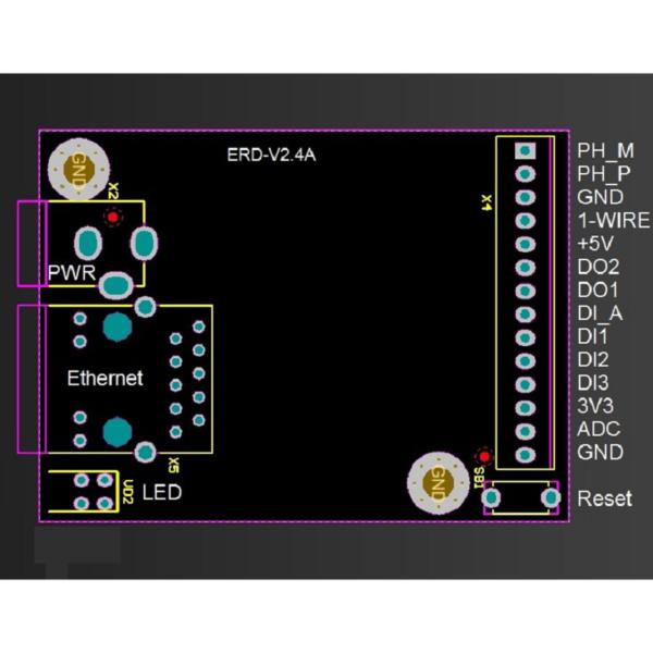 Рис.2 - SNR-ERD-2s - устройство удалённого контроля и управления