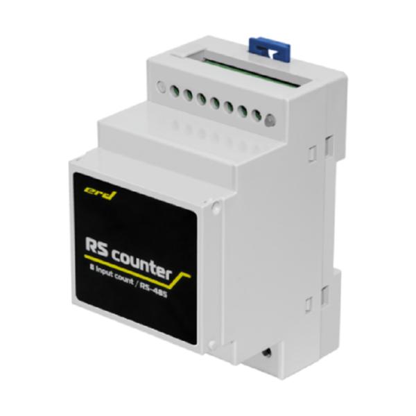 SNR-RScounter-8I_Modbus - счётчик импульсов с цифровым интерфейсом RS485, 8 импульсных входов (Modbus RTU)