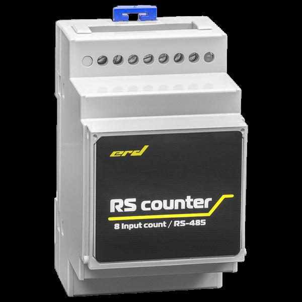 Рис.3 - Счётчик импульсов с цифровым интерфейсом RS485, 8 импульсных входов