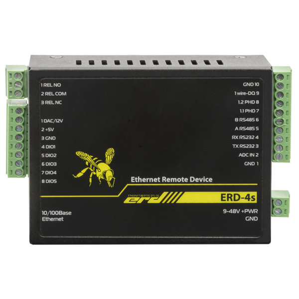 Рис.5 - SNR-ERD-4s - устройство удалённого контроля и управления