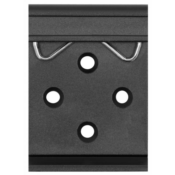 Рис.6 - Крепление на DIN-рейку SNR-ERD-4s - устройство удалённого контроля и управления
