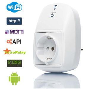 Умная розетка Wi-Fi Iotronic WS-10
