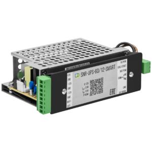SNR-UPS-60/12-SMART(RPS14) – устройство бесперебойного питания RPS с выходом 12В/60Вт, с функцией мониторинга и холодного старта (RPS14)