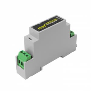 """Рис.1 - Датчик напряжения на DIN рейку с аналоговым выходом """"Phase Analyser-DIN"""""""
