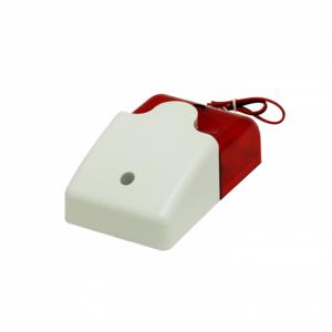 Рис.1 - Звуковой и световой сигнализатор, сирена 110дб, красный
