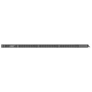 Рис.1 - TP-BASIC-20A04B-32L3 - блок розеток с функцией измерения серия BASIC, 20xC13, 4xC19, вход IEC60309 3x32A (3P+N+PE)