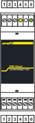 Рисунок 1 – Подключение SNR-SHUNT-1.1