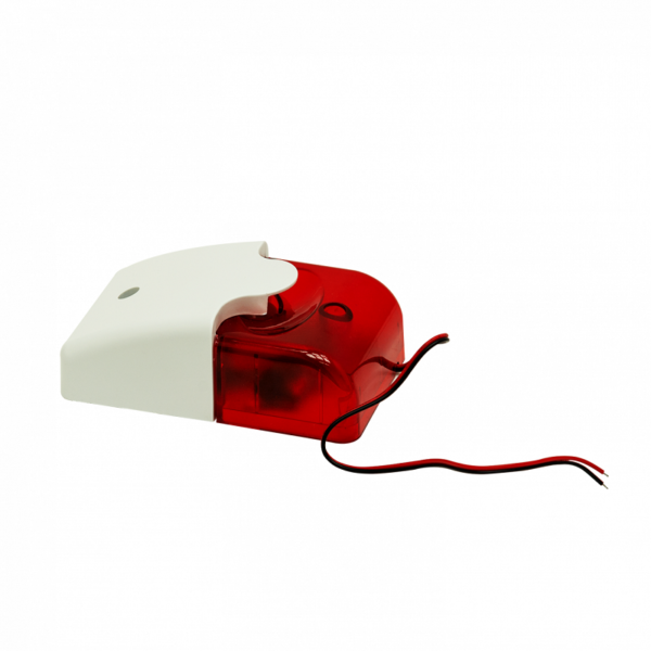 Рис.2 - Звуковой и световой сигнализатор, сирена 110дб, красный